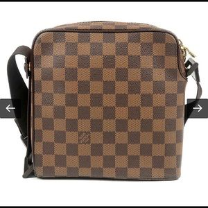Authentic LOUIS VUITTON Damier Olav PM Cross Body